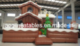 Christmas Inflatable Snowman House for advertisement (AQ1106-1)