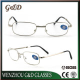 New Fashion Foldaway Metal Reading Glasses with Case