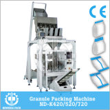 Vertical Gusset Bag Granule Packing Machine with Multi Weighter