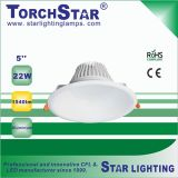 3000k 4100k 6500k Aluminum 22W LED Down Light