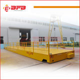 10t Capacity Low Table Height Rail Transfer Cart for Aluminium Coil on Rails (KPC-10T)