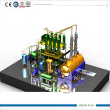 20ton Machine Oil Distillation Plant in Negative Pressure