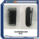 Senken Police Shoulder Wear Red Green LED Warning Light 02
