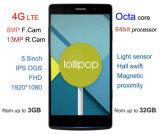 5.5inch Mt6752 Octa Core 3G RAM 4G Lte Cellphone