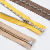 Top Quality Metal/ Nylon Open End Zipper