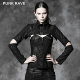 Wholesale Corporate Gothic Punk Cool Design Jacket with Corset (Y-484)