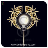 Outdoor Christmas Decoration Light LED 2D Pole Motif Light