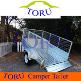 8X4 Galvanized Cage Box Trailer