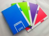 A5 Custom Printed Spiral Exercise Notebook