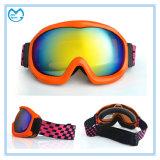 Mirror PC UV 400 Eyewear Ski Goggles with Changeable Lenses