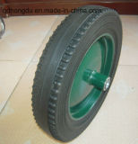 16 Inch Solid Rubber Powder Wheel