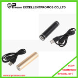 Lipstick 2600mAh Power Bank with Rechargeable Batteries (EP-P9037)
