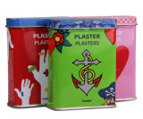 First Aid Metal Tin Case for Band-Aid
