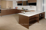 Brown High Gloss Lacquer Finish Kitchen Cabinet Furniture