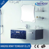 High Quality Hotel Single Basin Steel Waterproof Bathroom Cabinet