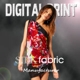 Digital Print Silk Fabric (X1014)