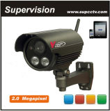 CCTV H. 264 6mm Lens 2.0m 1600X1200 2 Array LEDs Outdoor HD Network IP IR Camera Support SD Card (SV-MIP150)