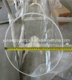 Od320mm Large Diameter Clear Fused Quartz Glass Tube