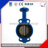 Wafer Type Butterfly Valve with Bare Shaft for Industrial Use