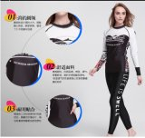 Anti-Static Lycra Long Sleeve Women′s Swimwear&Sportwear (CL-731)