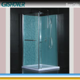 Lowes Square Glass Shower Cabin (KF-T010)