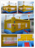 Commercial Birthday Cake Bounce Jumping House Inflatable Bouncer Castle (MJE-074)