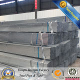 Slotted Black and Galvanzied Square Steel Tube