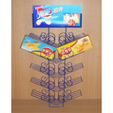 Metal Wire Hanging Potato Chips Display (PHY1004F)