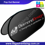 Trade Show Advertising Fabric Pop out Stand Pop up Outdoor Banner