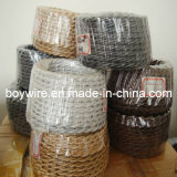 Colored PVC Braided Wire 0.75mm2*3c Twisted Wire (BYW)