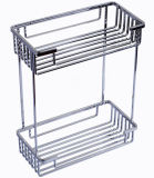 Stainless Steel 304 Kitchen Double Basket (AB7107)