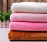 100% Polyester High Quality Flannel Fleece Fabric
