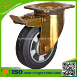Heavy Duty Brake Rubber Wheels for Hand Trolley