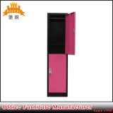 Steel Furniture Factory Office Furniture 2 Compartment Steel Locker
