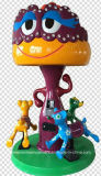 Kiddie Ride 3 Mushroom Carousel Riding Machine (NC-LE013)