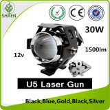 LED Laser Motorcycle Headlight U5 LED 30W