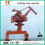 New Condition Container Yard Offshore Jib Harbour Crane for Sale