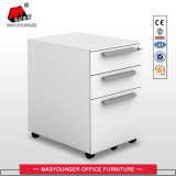 Office Use Metal 3 Drawer Mobile Cabinet with Key