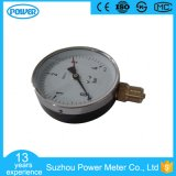 4 Inch 100mm Steel Case Chromeplated Ring Pressure Gauge