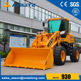 Compact Garden Machine Mini Wheel Loader with 1500kg Rate Loading