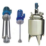 High Shear Mixer Homogenizing Tank