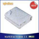 Qindao Comfortable Fleece Electric Heated Blanket with Ce GS Certificate