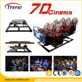 Exciting! ! ! 6 Seats Xd 7D Cinema Equipment for Sale with Gunshooting