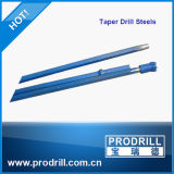 Tapered Rock Drill Rod Hex22*108, L=1600mm