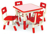Children Furniture Colorful U Shape Children Desk and Chairs (GT-83C)