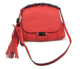 Wholesale Top Quality Fashion Women Designer Genuine Leather Tessal Ladies Handbag (XN001)