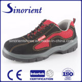 2017 Best Selling Suede Leather Safety Shoes Boots with Steel Bottom RS6171