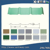 Color Coated Roofing Steel Tiles