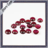 5# Ruby Round Shape Cabochon Gemstone