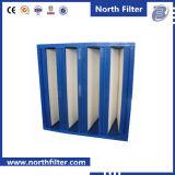 Large Flow V-Bank Filter for Pharmaceutical Factory